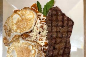 Chilaquiles Rancheros - delivery menu
