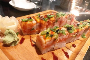Salmon Mille-Feuille Roll - delivery menu