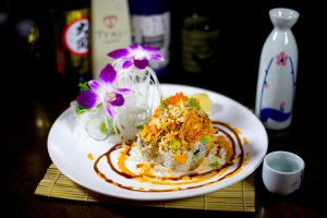 Oceanic Volcano Roll - delivery menu