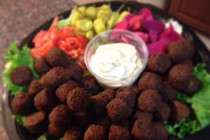Falafel Tray - delivery menu