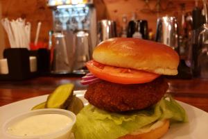 Shrimp Burger - delivery menu