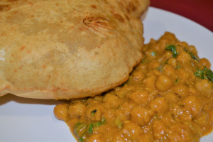 CHANA POORI - delivery menu
