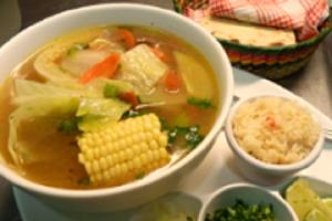 Sopa de Pollo - delivery menu