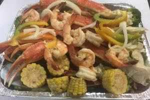 A. 1 lb. Snow Crab Leg and 1 lb. Jumbo Shrimp - delivery menu