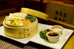 P1. Tahini Garden Plate - delivery menu