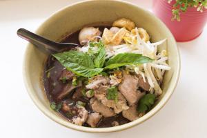 Nam Tok Moo Noodle Soup - delivery menu
