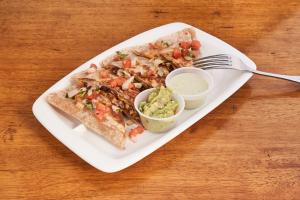 Supreme Quesadillas - delivery menu