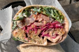 Falafel Wrap - delivery menu