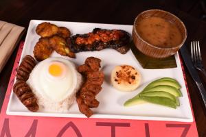 Bandeja Matiz - delivery menu