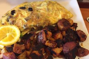 Mediterranean Omelette - delivery menu