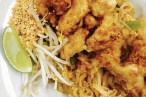 Crispy Chicken Pad Thai - delivery menu