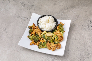 L23. Broccoli Chicken Lunch - delivery menu