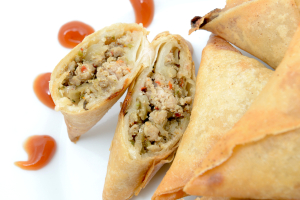 Chicken Samosa Large 2 Pieces - delivery menu
