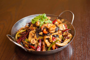 904. Combination Hot and Spicy Pot - delivery menu