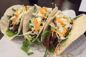 Korean Tacos - delivery menu
