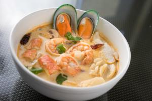 11. Tom Kha Seafood Soup - delivery menu