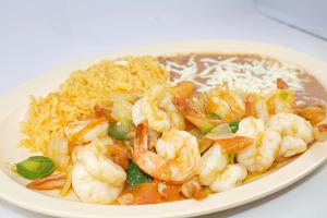 Camarones a la Mexicana - delivery menu