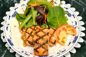 (After 6:30 pm Only) Grilled Salmon - delivery menu