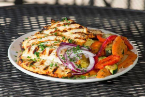 Chicken Tender Kabob Entree - delivery menu