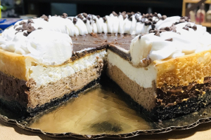 Vegan French Silk Cheese Cake - delivery menu