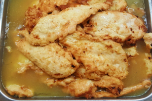 lemon chicken platter - delivery menu