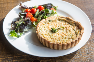 Broccoli Quiche - delivery menu