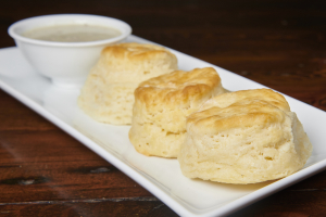 Mini Biscuits and Gravy - delivery menu