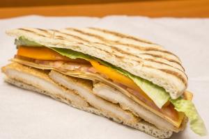 Santa Fe Panini - delivery menu