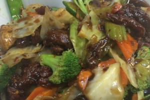 Hunan Beef - delivery menu