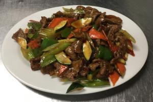 44. Garlic Beef - delivery menu