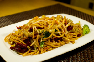 R7. BBQ Seitan with Yakisoba Noodle - delivery menu