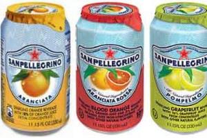 San Pellegrino Sparkling Fruit - delivery menu