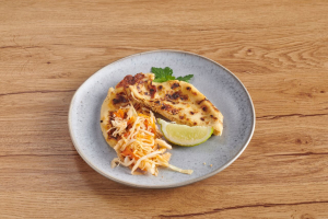 Pork, Beans and Cheese Pupusa - delivery menu