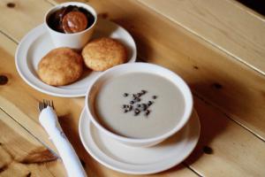 Chilate con Todo, Nuegados, Camote, Platano, y Miel - delivery menu