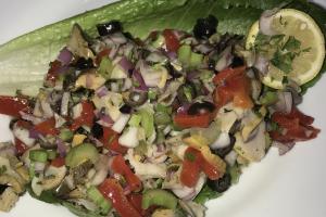 Scungilli Salad - delivery menu