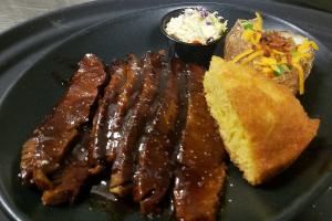 Beef Brisket Platter - delivery menu