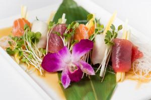 Tri Color Sashimi Rolls - delivery menu