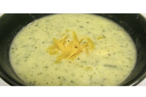 Cream of Broccoli Soup - delivery menu