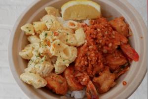 Garlic Shrimp Bowl - delivery menu