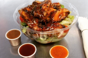 Jerkin Chicken Salad - delivery menu