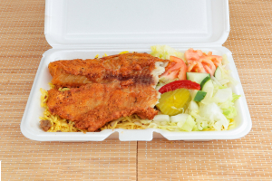 Fish Over Rice - delivery menu