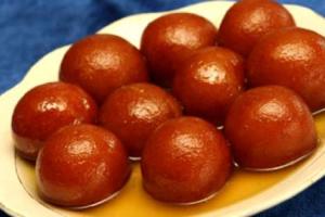 Gulab Jamon - delivery menu