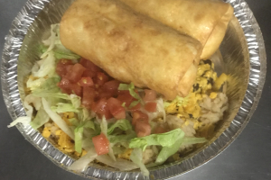 C3. Chimichangas - delivery menu