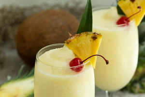 Frozen Pina Colada **FOOD ORDER REQUIRED** - delivery menu