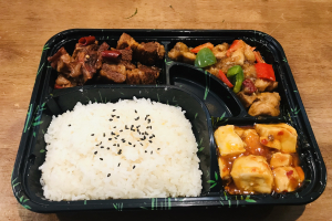 E. Kung Pao Chicken+ Braised Beef + Ma Po Toufu - delivery menu