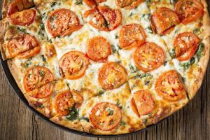 White Pizza - delivery menu
