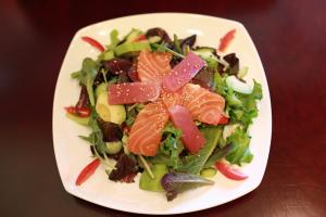 Sashimi & Avocado Salad - delivery menu