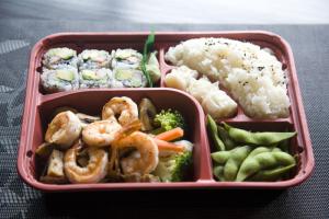Shrimp Teriyaki Bento Box - delivery menu