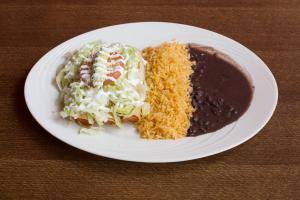 Tacos Dorados Platter - delivery menu
