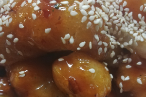 Honey crispy sesame Chicken - delivery menu